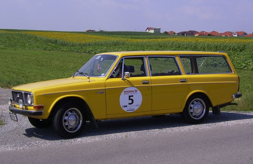 1972 Volvo 145 station wagon.