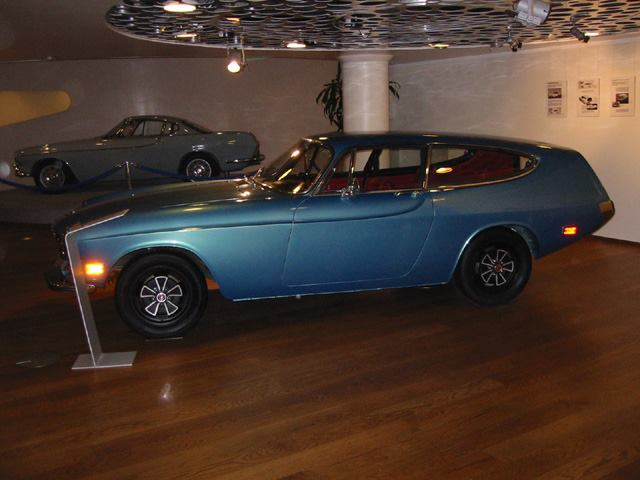 1972 Volvo 1800, The ES Prototype The Rocket a