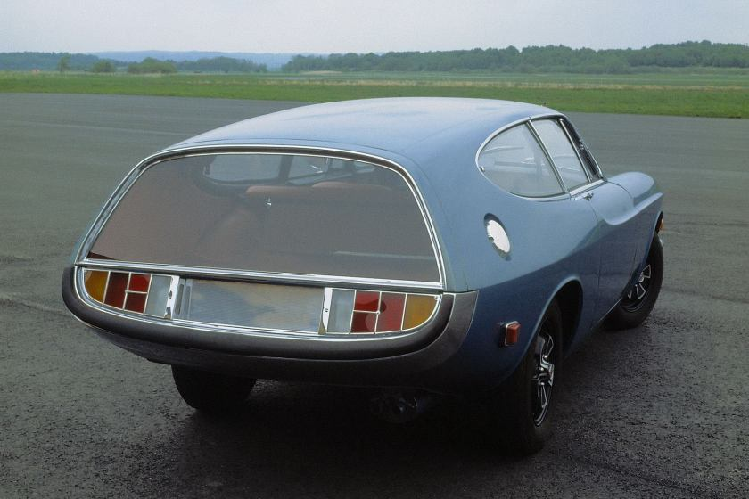 1972 Volvo 1800, The ES Prototype The Rocket