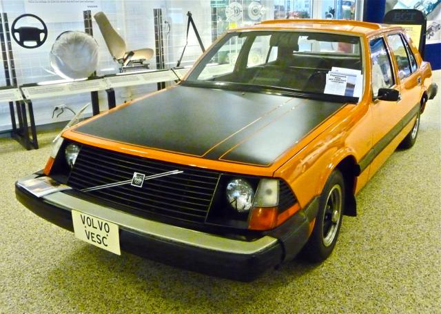 1972 Volvo VESC, konceptbil från Volvo