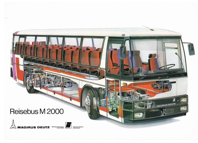 1974 MAGIRUS-DEUTZ Reisebus M2000 (PR-F)