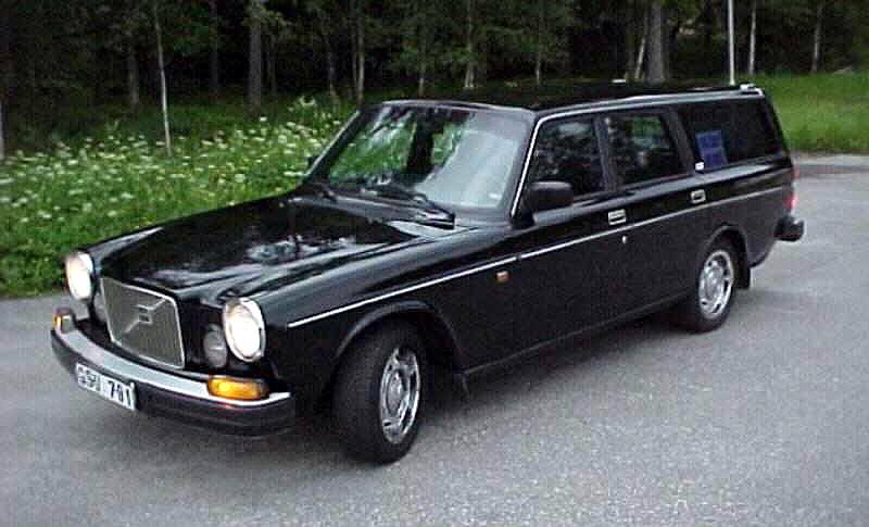 1974 Volvo 165 1