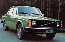 1975 Volvo 244 DL