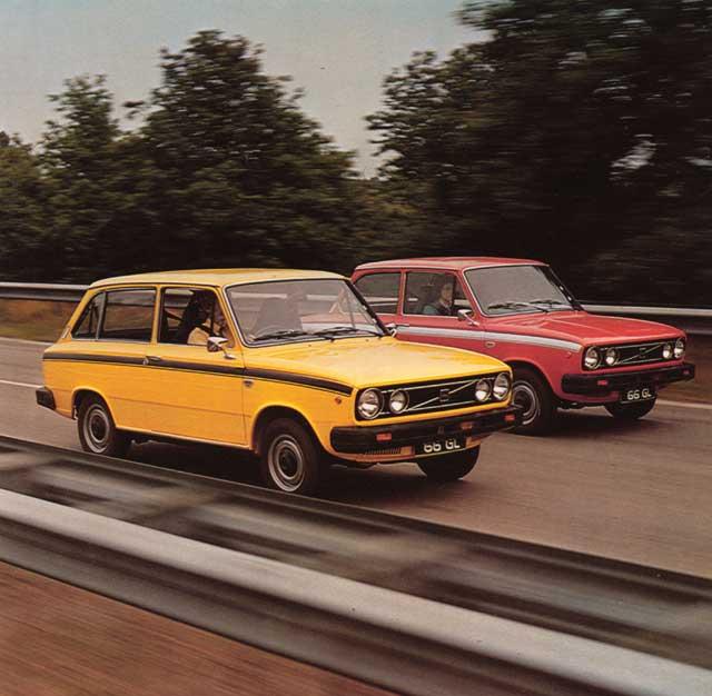 1975 volvo 66-st