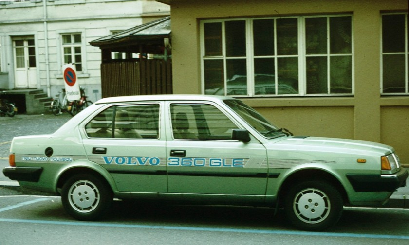 1976-91 Volvo 360 labelled
