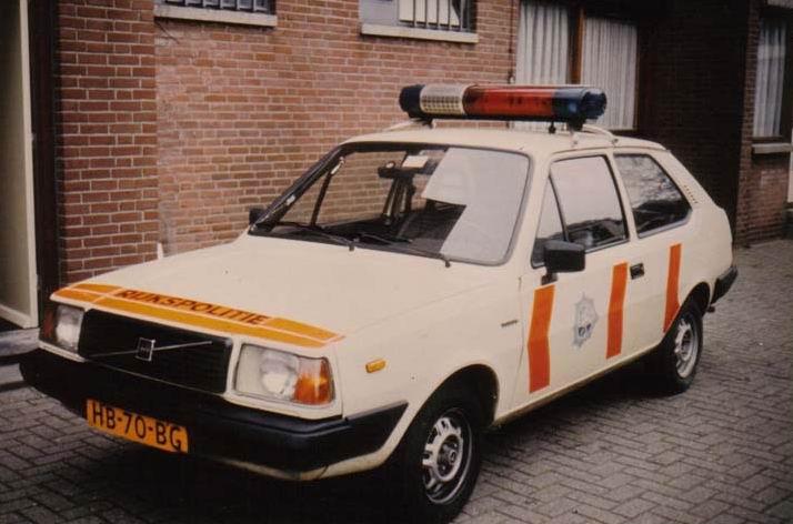 1976 Volvo 343 DL Politievoertuig