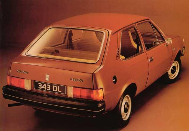 1976 volvo 343-rv