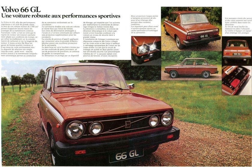 1976 Volvo 66 Brochure