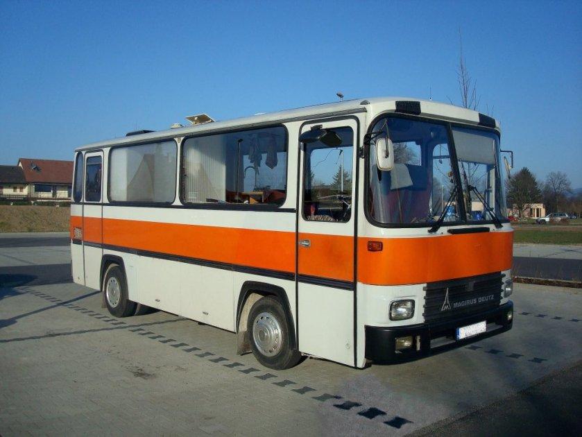 1977 Magirus-Deutz R81, der Kurzbus wurde