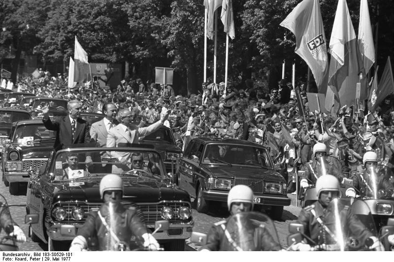 Frankfurt/Oder, Edward Gierek, Erich Honecker