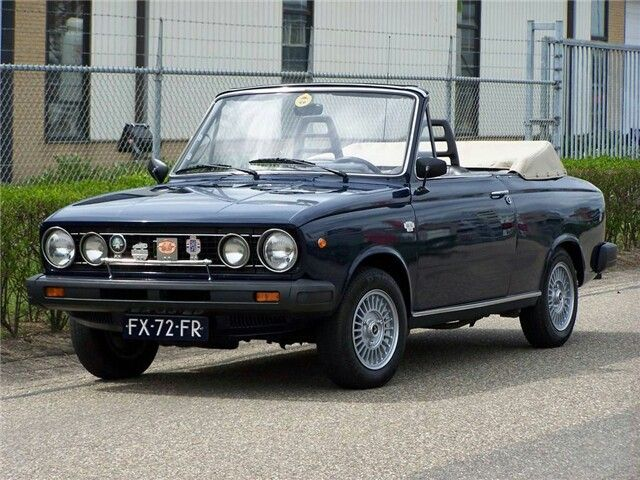 1977 Volvo 66 Cabriolet. Only 6 have ever been made