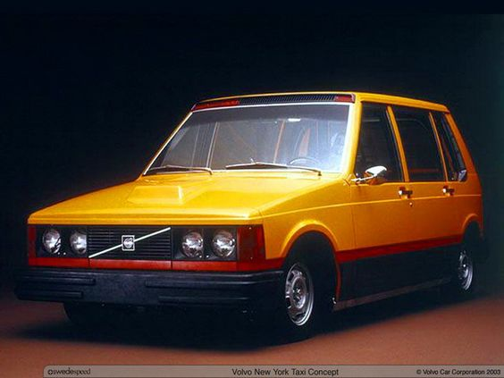 1977 Volvo New York Taxi Concept