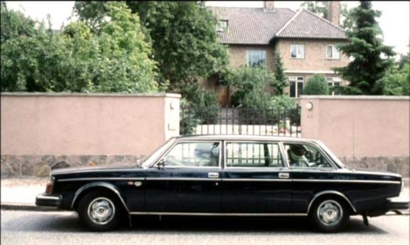 1978 Volvo 264 TE Limousine zwart