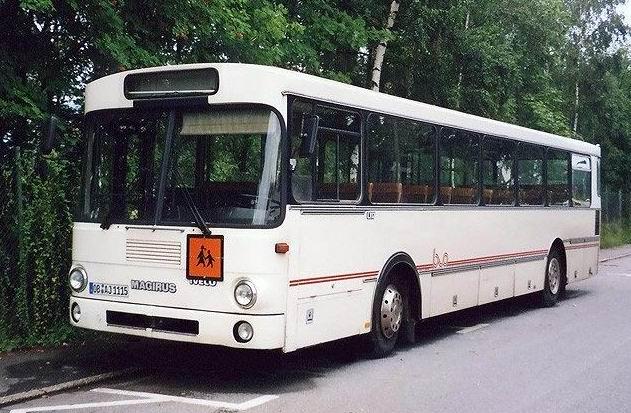 1979 Magirus 230 L 117 Überlandbus