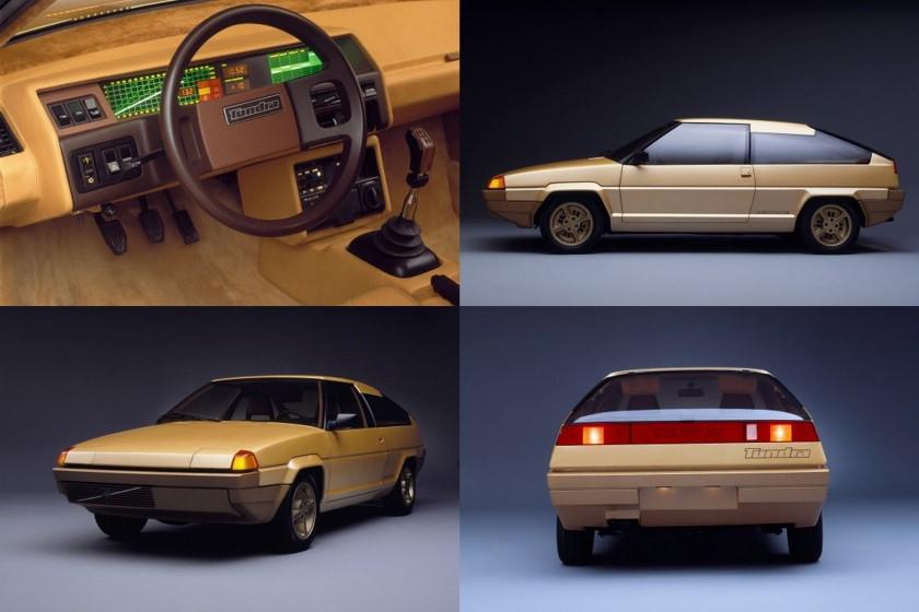 1979 Volvo Tundra concept car designd by Bertone 1979