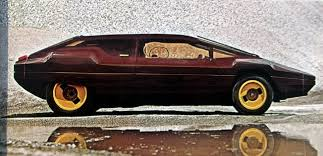1980 Bertone Sibilo Bertone Tundra Bertone Volvo 264 TE