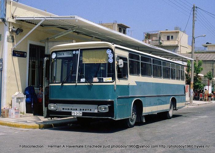 1980 Magirus Deutz Zakynthos Griekenland