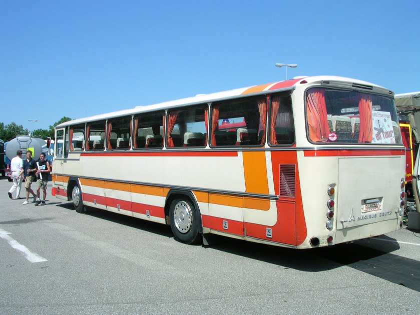 1980 Magirus TR 120 Heck