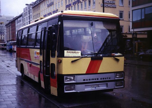 1981 Magirus Deutz Shortbus Greece