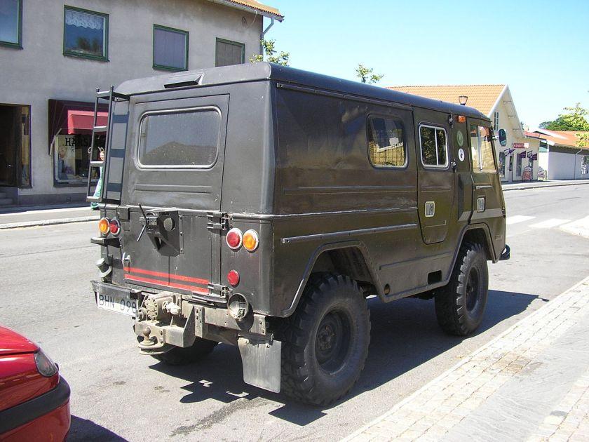 1981 Volvo C202 rear