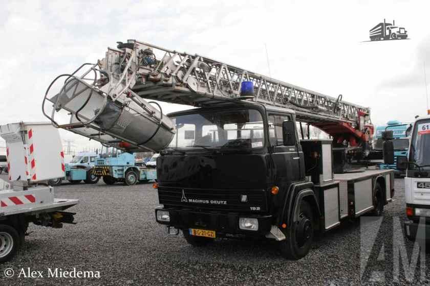 1982 Magirus-Deutz 192D13F ladderwagen
