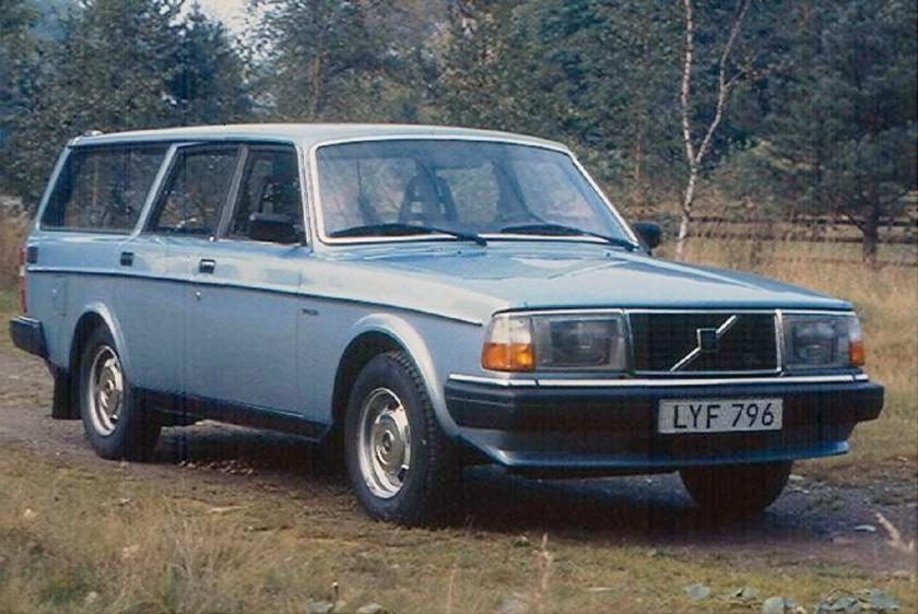 1982 Volvo 245 GL 1981-84