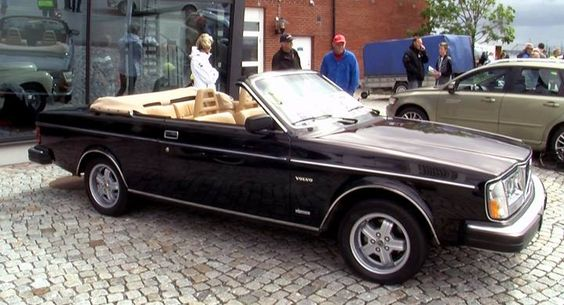 1982 Volvo 262 bertone cabriolet
