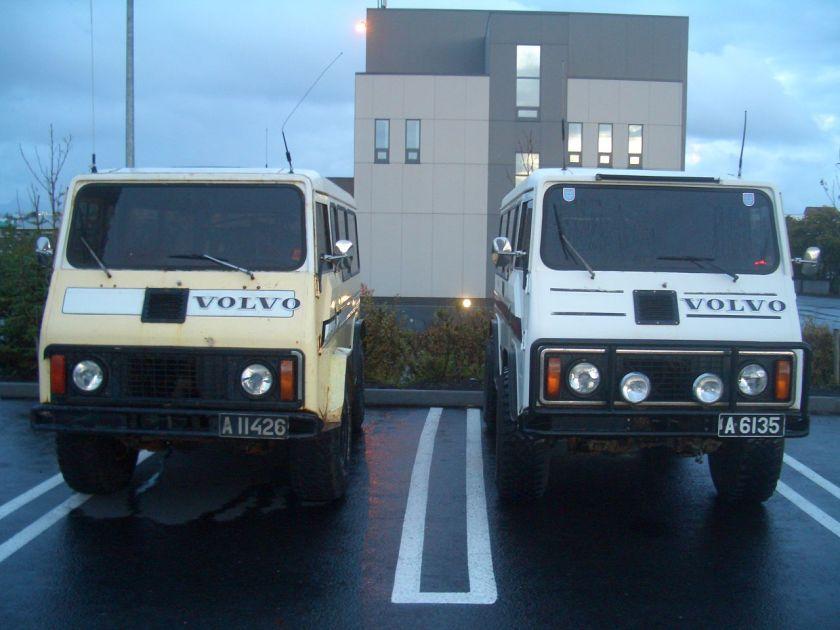 1983 Volvo C202 Islandversionen an der Hallgrimskirkja Reykjavík