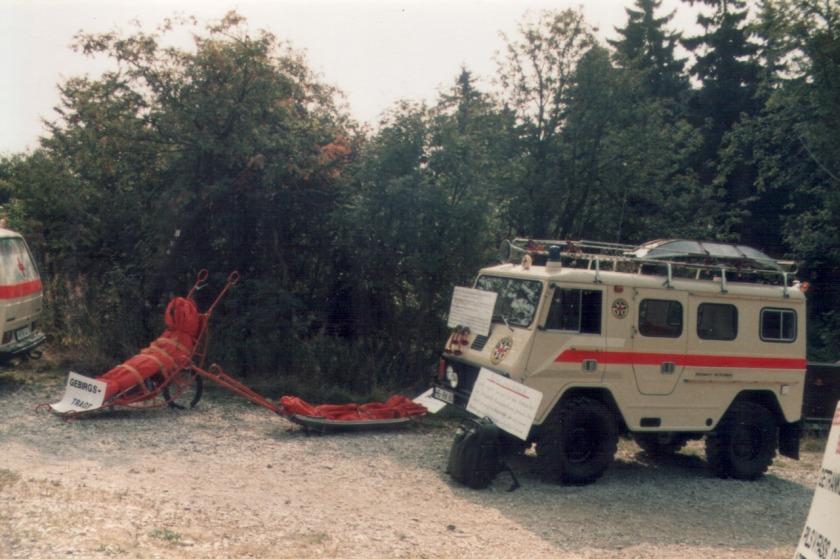 1983 Volvo Lappländer C202 - Rettungsfahrzeug der DRK Bergwacht Großer Feldberg (Taunus)