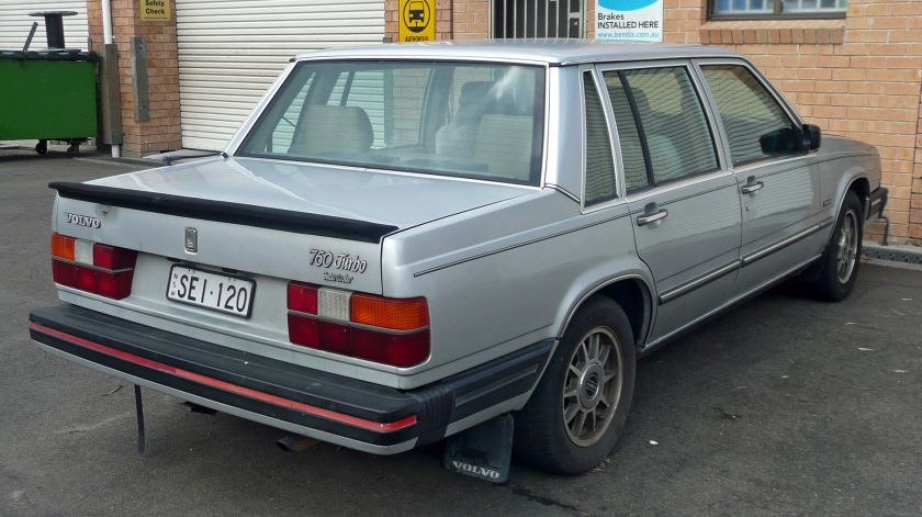 1984-85 Volvo 760 Turbo sedan