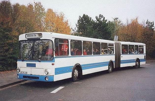 1984 Magirus 260 SH 170 Gelenkbus zk