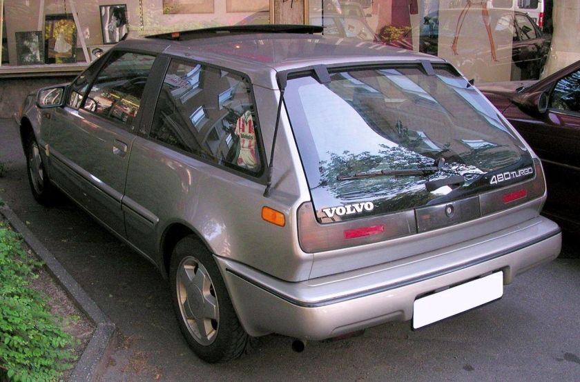 1986-95 Volvo 480 Turbo rear