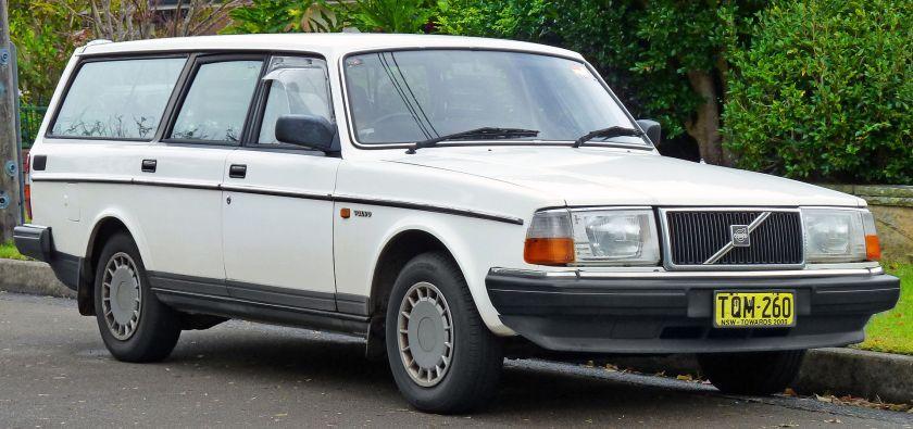 1988-91 Volvo 240 GL station wagon