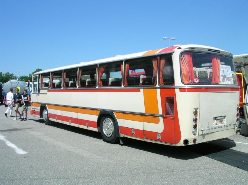 1988 Magirus TR 120 Heck