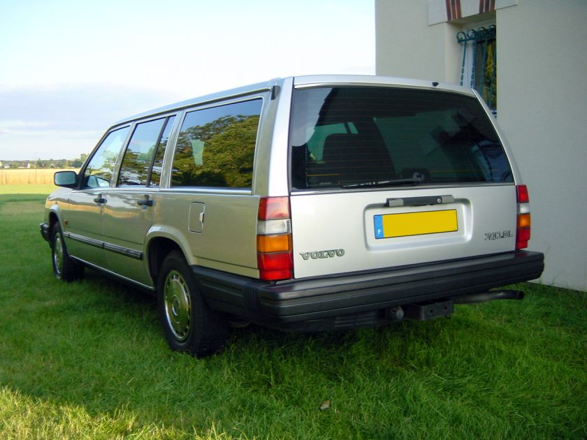 1989 Volvo 740 GL break