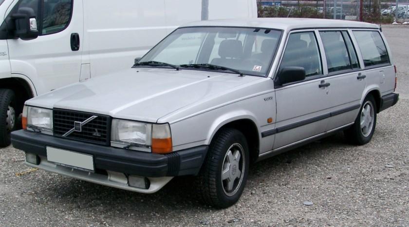 1989 Volvo 740 GLT Kombi