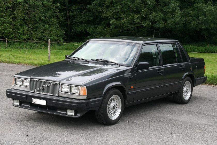 1989 Volvo 740 GLT US-Version