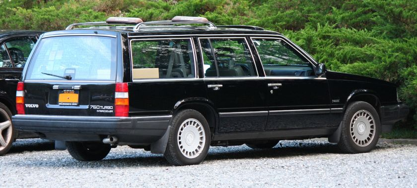 1989 Volvo 760 Estate Wagon Turbo Intercooler, US market version