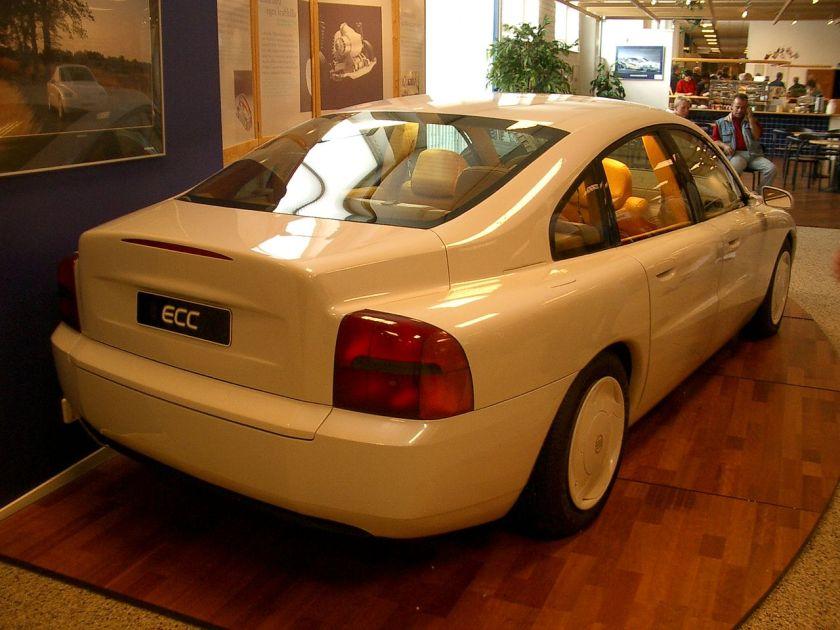 1992 Volvo ECC concept rear