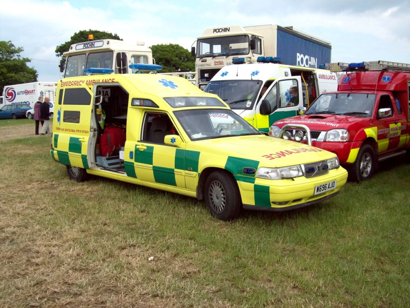 2000 Volvo V90 Ambulance Engine 2922cc 24v Automatic