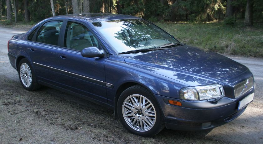2002 Volvo S80 2,9, Cosmos Blue