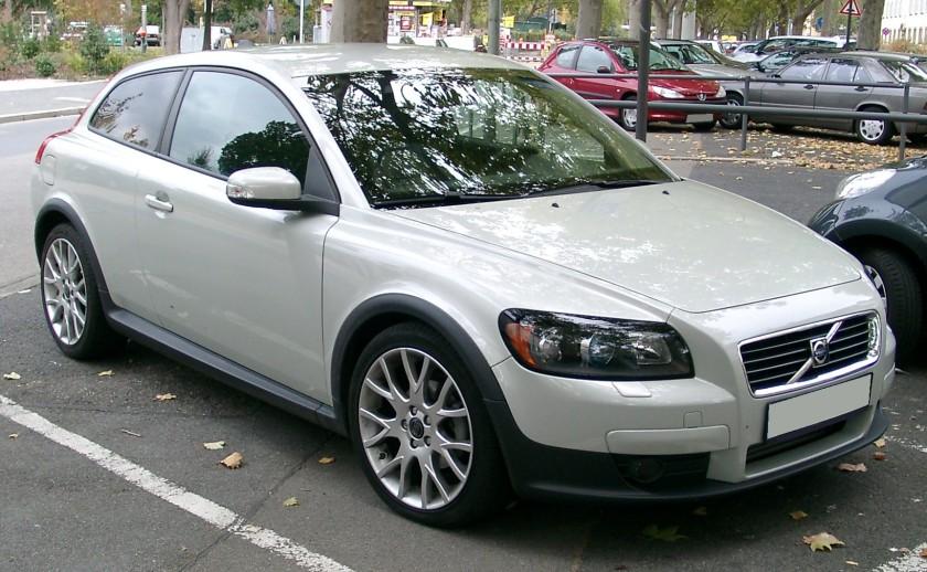 2007 Volvo C30 front