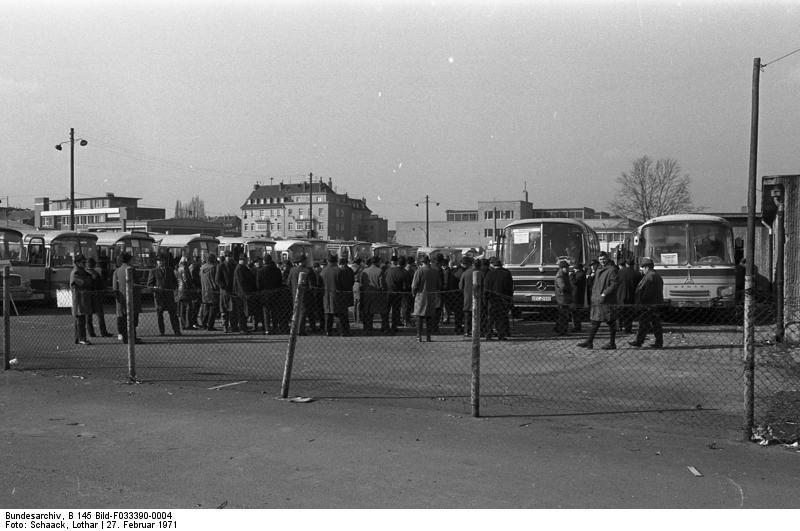 Bonn, Demonstration von Bauern