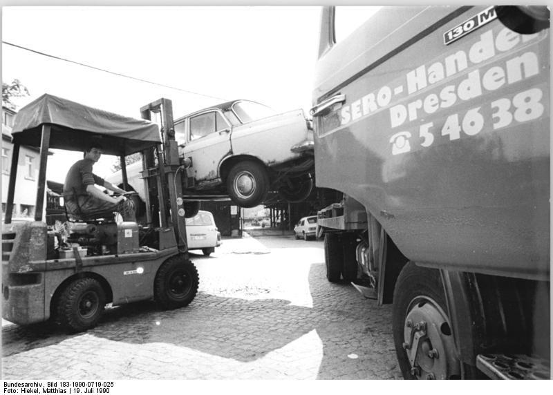 Dresden, Entsorgung und Verwertung von Autos