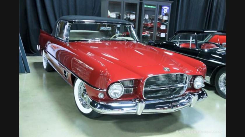 Dual Ghia Convertible Dark Red