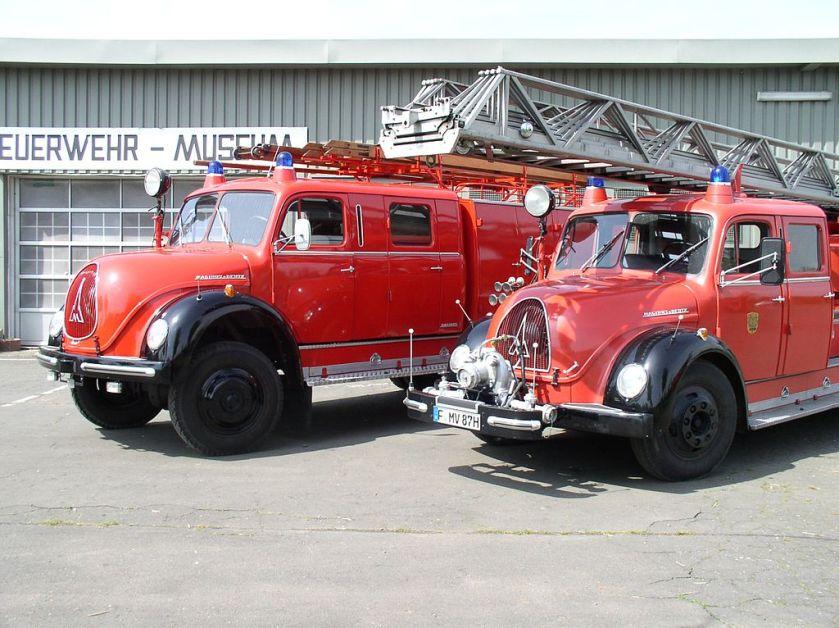 FRA Feuerwehr-Museum Trucks