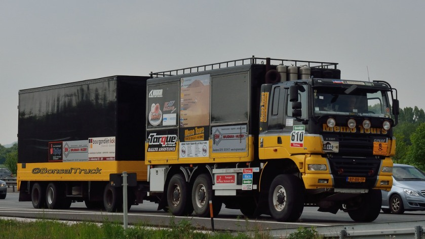 GINAF Bonsai Truck