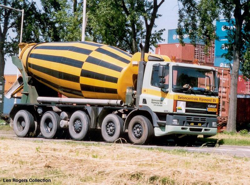 Ginaf Cement Mixer