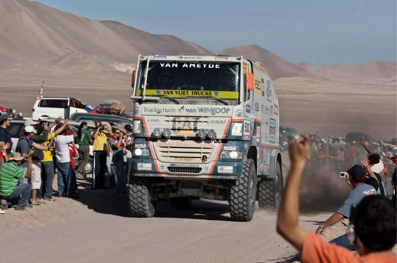 Ginaf Rally Power Dakar Truck
