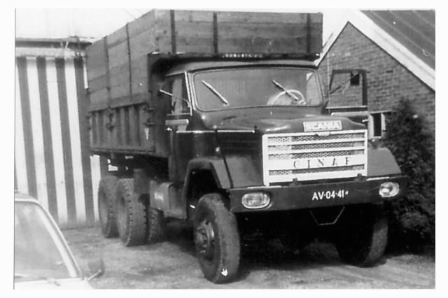 Ginaf Scania Motor U-border